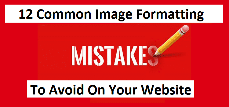 common image formatting mistake