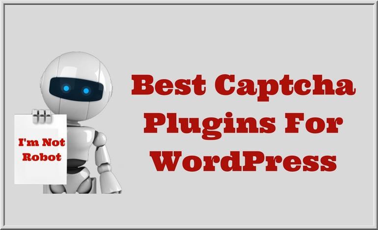 Useful WordPress CAPTCHA Plugins