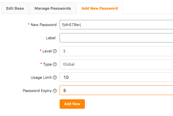 woocommerce password