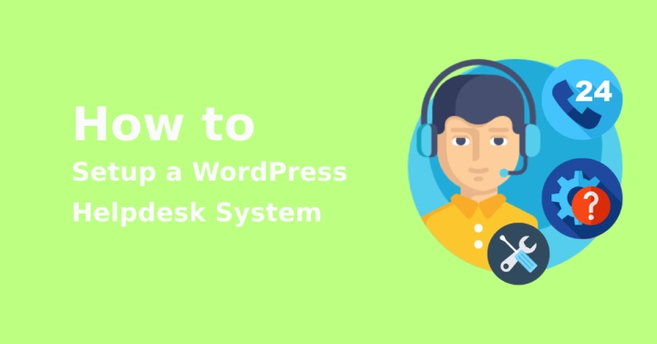 WordPress helpdesk system