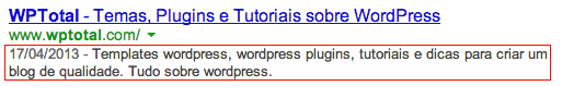 Google Description