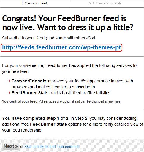 FeedBurner Tutorial