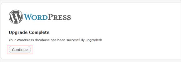Actualizar WordPress