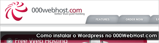 Instalar WordPress no 000WebHost