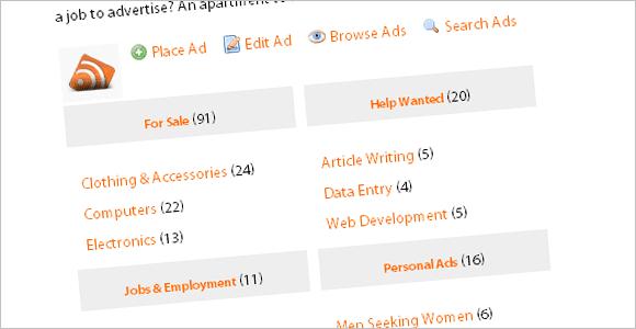 WordPress Classifieds Plugin