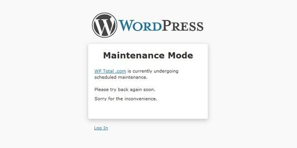 Site Maintenance