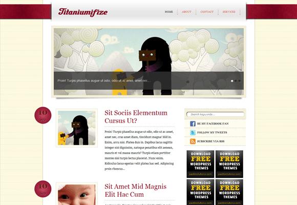 Titaniumifize WordPress Theme