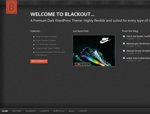 Blackout WordPress Theme