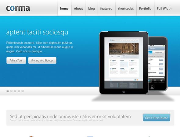 Corma - WordPress Business & Portfolio Theme