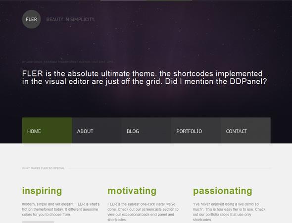 FLER - Your modern, simple & elegant all-use theme