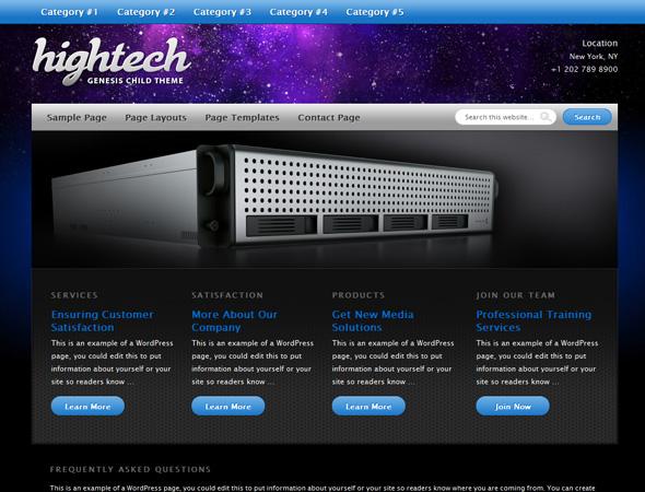 Hightech Theme