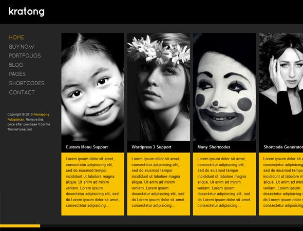 Kratong - Flexible Portfolio and Blog Template