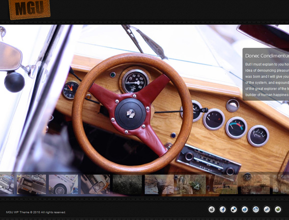 MG Universal - Multimedia Gallery WP Theme