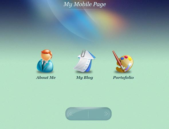 My Mobile Page WordPress Theme
