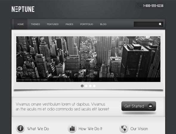 Neptune - Business Theme