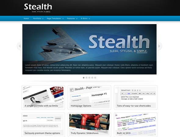 Stealth Premium WordPress Theme - 6 in 1