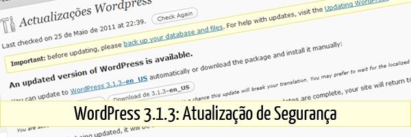 WordPress 3.1.3