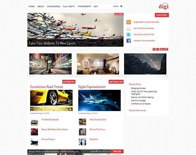 Digi, Blog and Magazine Theme for WordPress