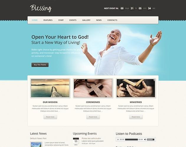 Blessing WordPress Theme