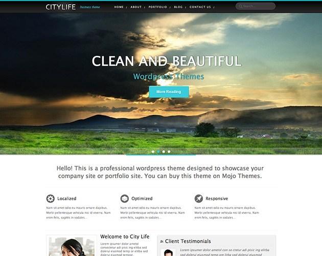 City Life WordPress Theme