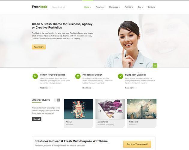 Freshlook - Responsive Multi-Purpose WP Theme