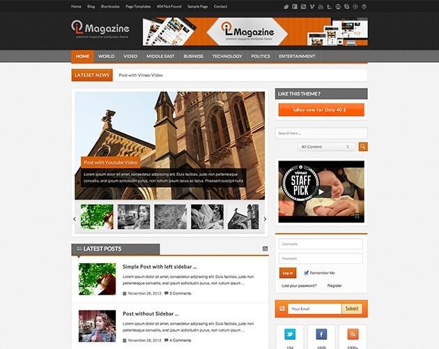 LioMagazine - News/Magazine Theme