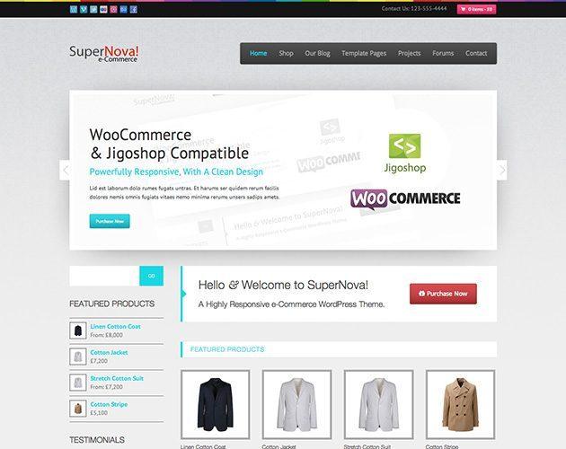 SuperNova - e-Commerce