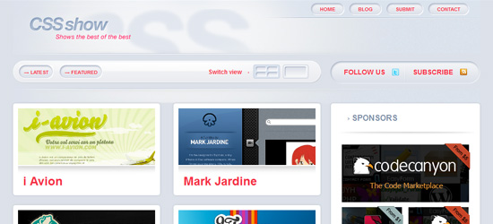 CSSshow - Premium Gallery Theme