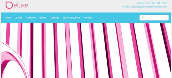 Deluxe - WordPress theme