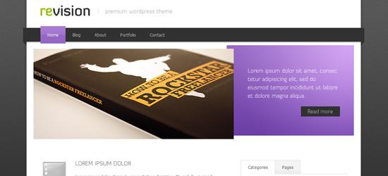 Revison - Premium WordPress Theme