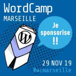 Sponsor WordCamp Marseille 2019