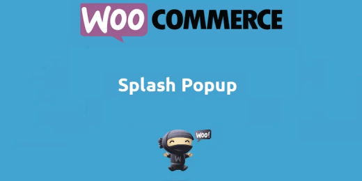Woocommerce Splash Popup