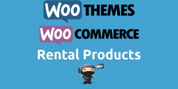 woocommerce rental products