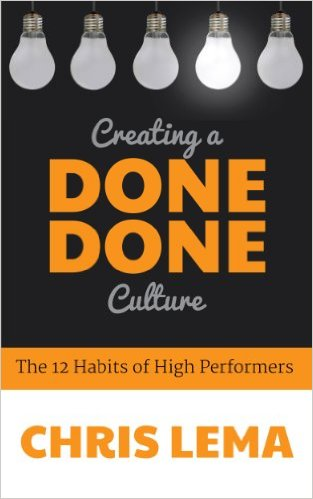Creating a done done culture: the 12 habits of high performers & what it means for you as a leader 56