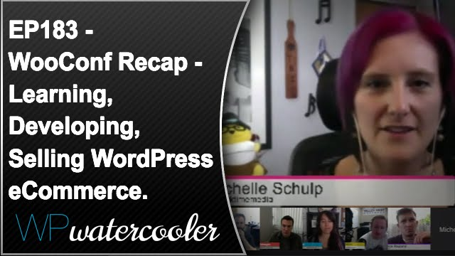 Ep183 - wooconf recap - learning, developing, selling wordpress ecommerce. 9