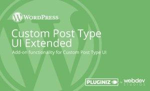 Custom Post Type UI Extended - Pluginize 15