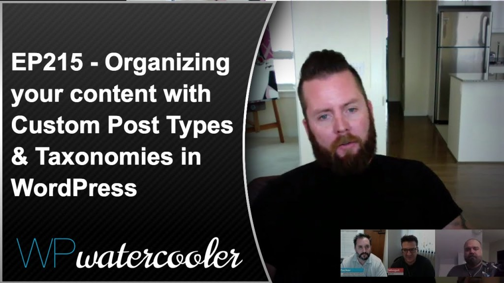 Ep216 - organizing your content with custom post types & taxonomies in wordpress 6