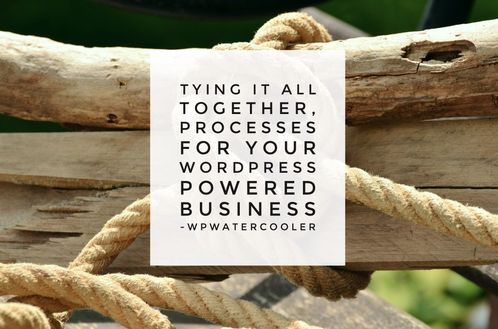 Ep218 - tying it all together, processes for your wordpress powered business 5