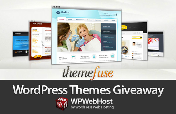 Tweet and Win Themefuse Original WordPress Themes Giveaway by WPWebHost