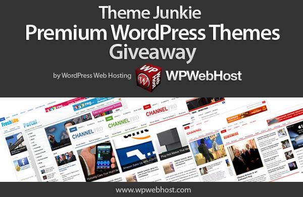 Tweet and Win Theme Junkie Premium WordPress Themes Giveaway by WPWebHost