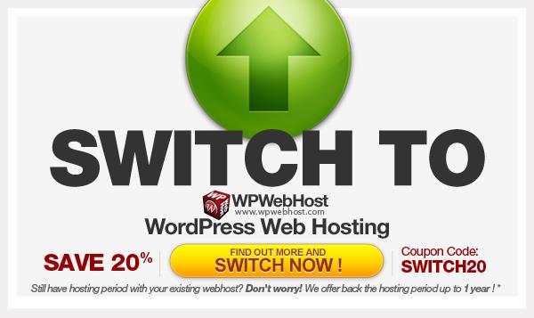 Switch Program to WordPress Hosting by WPWebHost