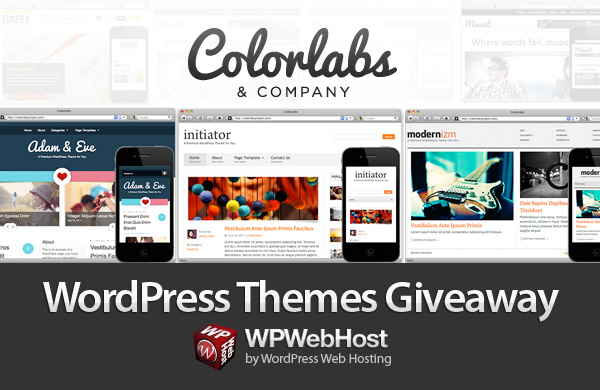 Colorlabs Theme Giveaway by WordPress Hosting WPWebHost