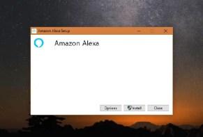 install and use Amazon Alexa on Windows 10