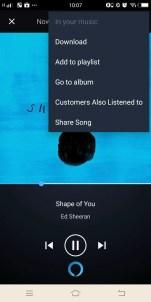 Amazon prime Music App 3