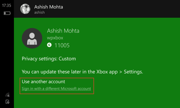 Multiple MS Account for Apps 2
