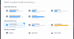 recover formatted SD card and hard drives