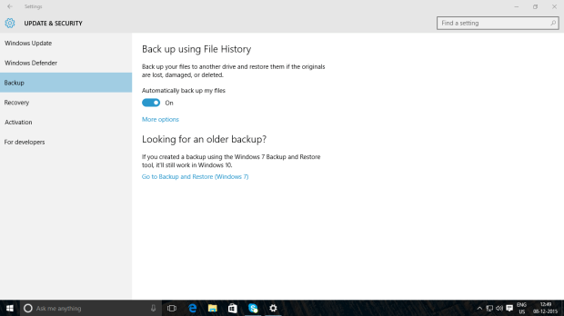 Windows 10 System Image USB Drive 7