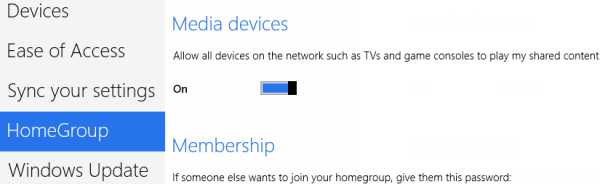 Windows 8 Media Device Settings