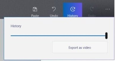 Export as Video in Paint 3D