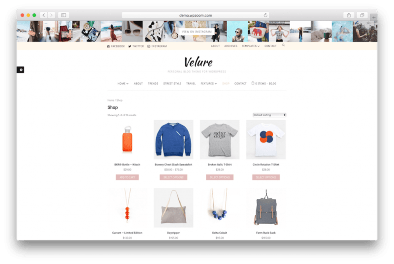 WooCommerce WordPress themes